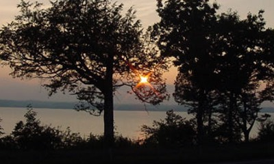 Onondaga Lake at Sunset